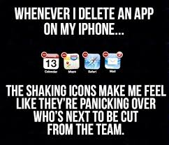 Meme Apps - deleting apps meme guy