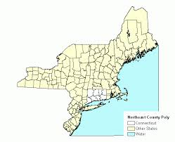 northeastern cus map northeastern united states index county polygon