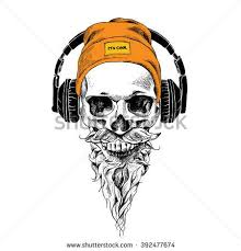 inspirational skull with crown pictures beard skull stock images