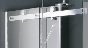 frameless sliding glass shower doors for tub frameless sliding