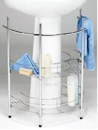 under sink storage tidy amazon co uk kitchen home chrome bathroom basin sink storage caddy tidy floor shelf