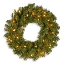 lighted christmas wreath buy 24 lighted christmas wreath from bed bath beyond
