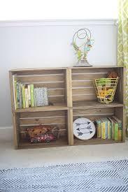 Crates For Bookshelves - best 25 nursery bookshelf ideas on pinterest baby bookshelf