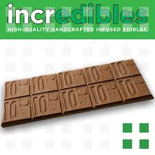 incredibles edibles incredibles chocolate bar 100mg frosted leaf cherry creek