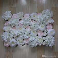 Peony Flowers 2017 Artificial Silk Light Color Rose White Peony Flower Wall