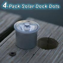 solar led dock lights lake lite 4 pack solar dock dots dock lights canada canadian dollars