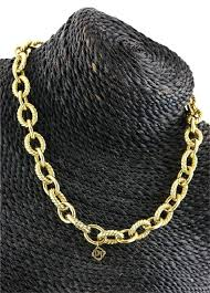 large link necklace images David yurman 18k yellow gold solid large oval link necklace jpg