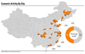 map of china and cities mapping china s economic activity foreign policy