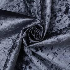 Crushed Velvet Fabric For Curtains Retardant Luxury Soft Plush Crushed Velvet Glitz Upholstery