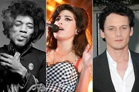 rock artist who died 2016 27 club stars who died at age 27 from jimi hendrix to kurt cobain