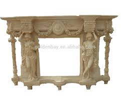 beige marble fancy fireplace french style fancy fireplace mantel