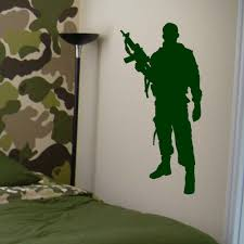 compare prices on military wall murals online shopping buy low military army soldier wall sticker guns wall decal war industry boys bedroom decoration wall mural military