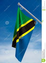 Flag Of Tanzania Tanzania Flag Stock Photo Image Of White National Blue 5462628