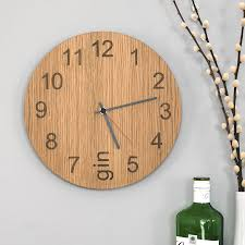 60s Clock Gin O U0027clock Clock By James Design Notonthehighstreet Com