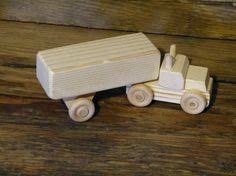 handmade wooden toy box trailer truck wooden toys by outonalimbadk
