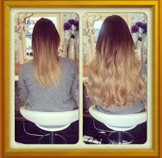 Beaded Hair Extension by Before And After Ombre Hair Extensions Leeds Prestige Hair