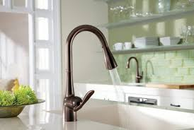 oil rubbed bronze kitchen faucet with soap dispenser home design