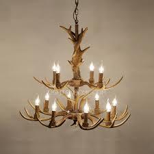 Metal Antler Chandelier Vintage 12 Light E14 Lamp Holder Large Antler Chandelier