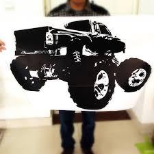 quality sticker monster truck buy cheap sticker monster truck