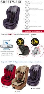 siege auto 1 2 3 isofix inclinable siège auto safety isofix groupe 1 2 3 évolutif 9 à 36 kg