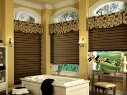 accessories breathtaking green bathroom window treatment ideas