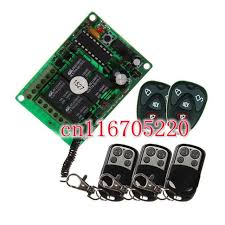 Outdoor Remote Light Switch Dc 12v 4 Channel Wireless Switch Power Relay Outdoor Remote
