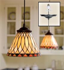 Stained Glass Light Fixtures In Stained Glass Pendant Light Lamps U0026 Lighting