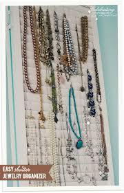 shutter jewelry organizer ornament hooks stylish jewelry and