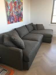 crate and barrel down filled sofa crate barrel lounge ii 2 piece sectional sofa in ny united states