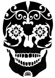 Halloween Skull Drawings I Think I U0027m In Love With This Shape From The Silhouette Online