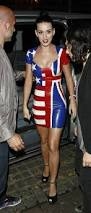 British Flag Dress Pictures Of Katy Perry In Rubber Uk And Usa Flag Print Dress