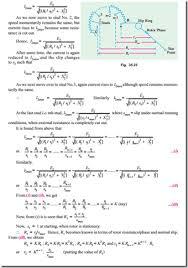 computations and circle diagrams starting of slip ring motors