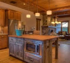 wooden kitchen islands reclaimed wood kitchen stunning rustic kitchen island ideas