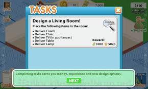 design home game tasks free design this home thiết kế ngôi nhà trong mơ của bạn cộng