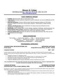 Cfo Resume Samples by Private Equity Resume Virtren Com