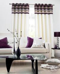 aubergine striped curtains memsaheb net