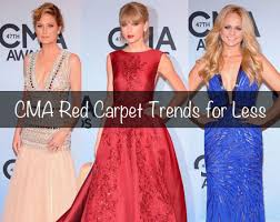 red carpet to real way affordable dresses inspired by cma u0027s best
