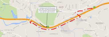 construction notice i 84wb exit 24 to permanently close 04 22 2015