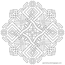 geometry coloring pages free printable geometric coloring pages
