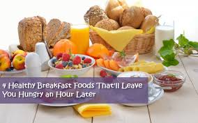 4 healthy breakfast foods my weight loss