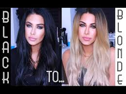 black hair to blonde hair transformations black hair to blonde hair my new blonde beauty works la weave