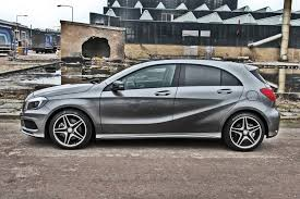grey mercedes a class mountain grey a250 amg sport now with carbon mercedes a class
