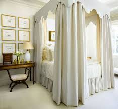 canopy curtains for beds bedroom style 10 ways to dress your canopy bed apartment therapy