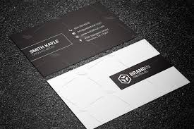 minimal black u0026 white business card business card templates