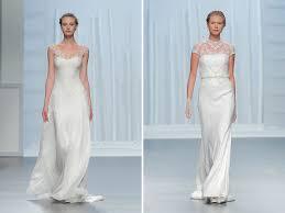 modern wedding dresses gorgeous modern wedding dresses from rosa clará green wedding shoes