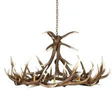 Antlers Lighting Chandelier Decor Gorgeous Interesting Crystal Antler Chandelier With Deer
