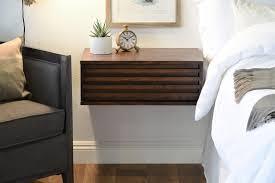 nightstand mesmerizing wall mounted nightstand with drawer