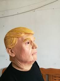 trump halloween costume aliexpress com buy lifelike donald trump mask billionaire