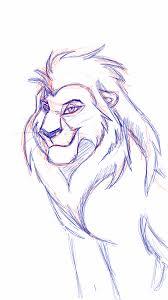 mystery lion phone sketch by albinoraven666fanart on deviantart