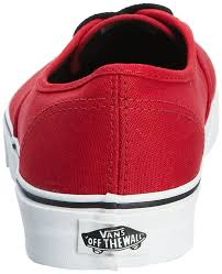 yours clothing vans u authentic unisex adults u0027 low top trainers